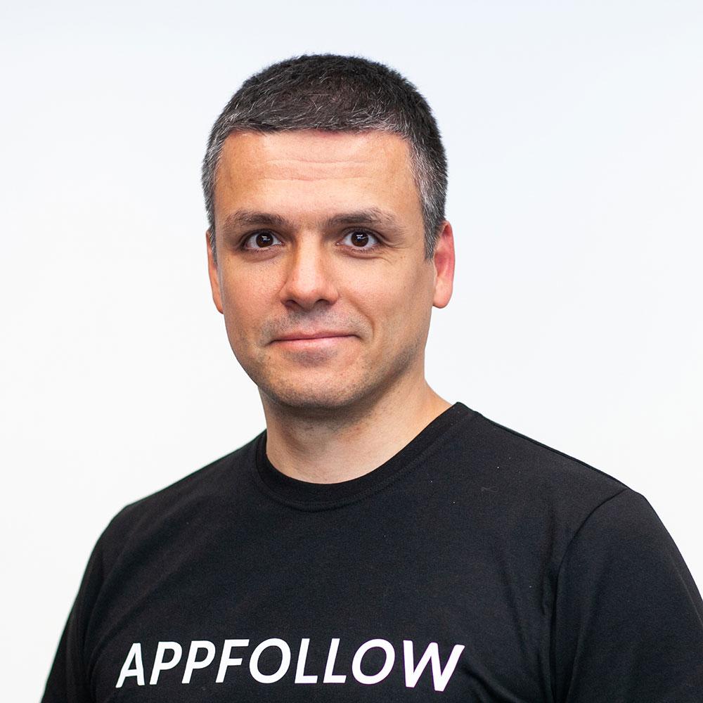 Evgeny Kruglov COO & Co-founder AppFollow