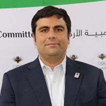 Nasser Majali Secretary General Jordan Olympic Committee