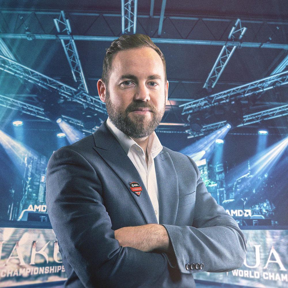 James Dean CEO ESL