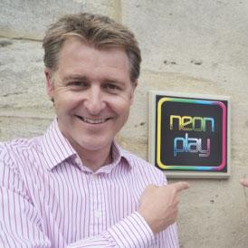 Oli Christie CEO Neon Play